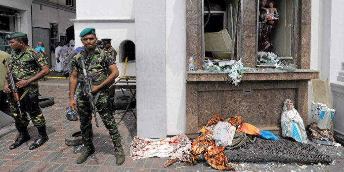 Almost 300 were killed and hundreds more hospitalized with injuries from eight blasts that rocked churches and hotels in and just outside of Sri Lanka's capital