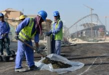 Qatar workers