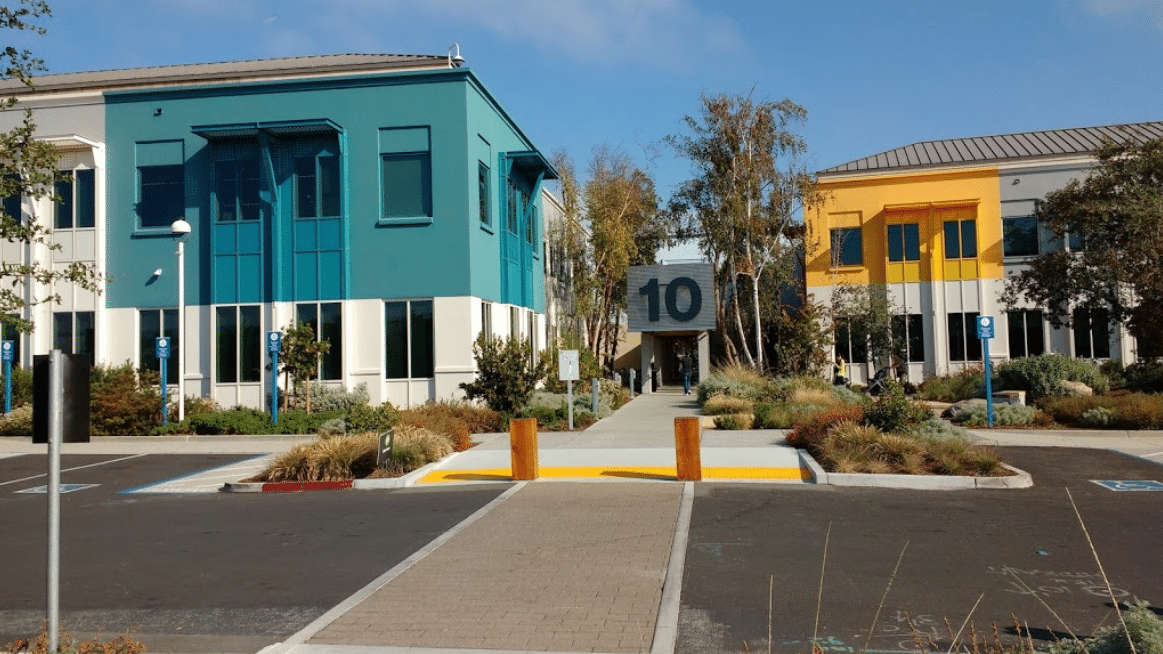 Facebook Headquarters in Menlo Park