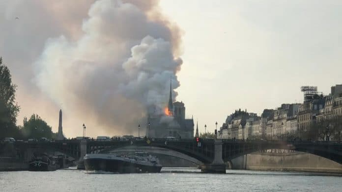 'Significant fire' underway at Notre Dame Cathedral in Paris