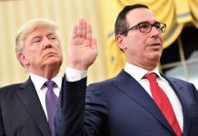 Treasury Secretary Steven Mnuchin has reportedly encouraged the president to reach a deal with China quickly and avoid political blowback from a trade war in 2020