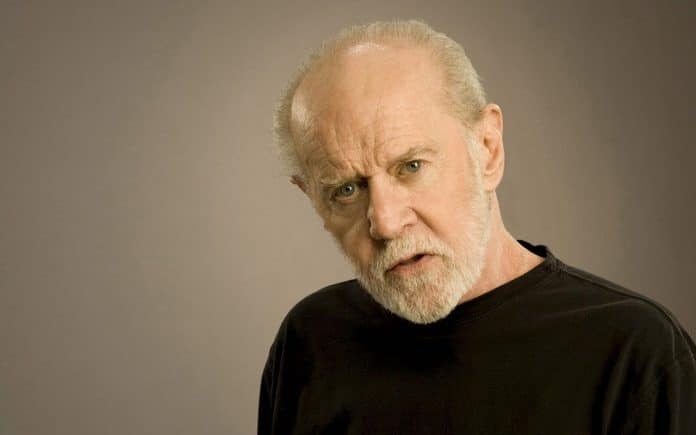 George Carlin, American standup comedian who always said a word out of place