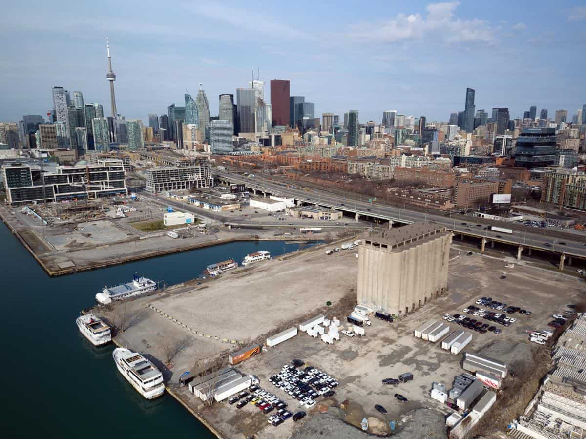 Toronto Eastern Waterfront where the Smart City is being built