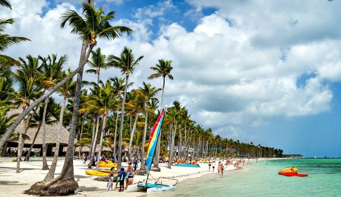Punta Cana in the Dominican Republic is a popular destination for U.S. tourists