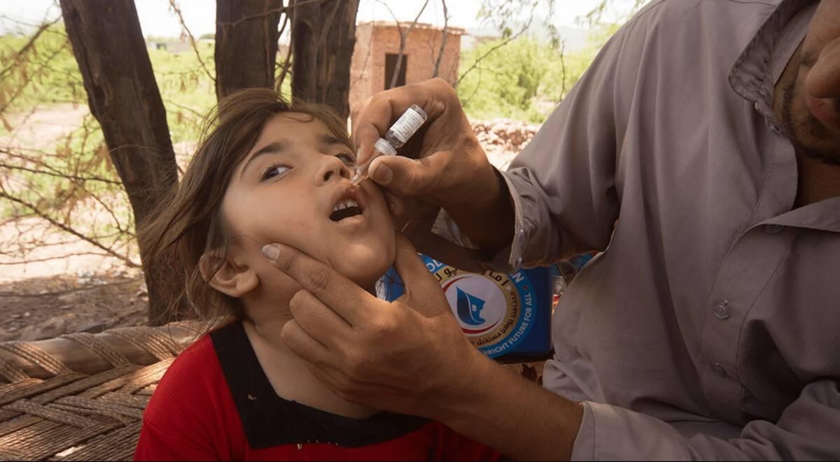 Over 71 million Pakistani children vaccinated against polio under UAE program